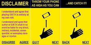 Kỳ lạ với ứng dụng 'tung hứng smartphone'