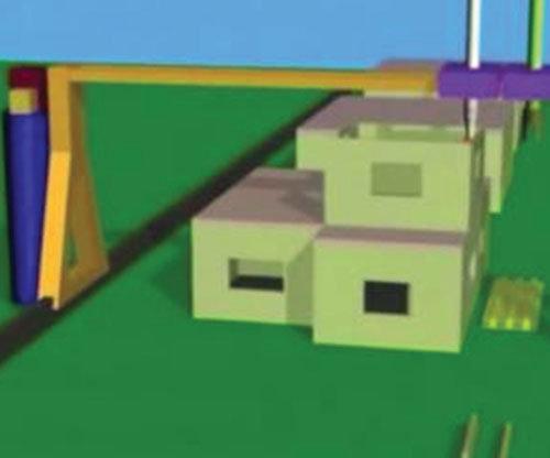 Thiết kế một máy in 3D cỡ lớn để có thể xây dựng một ngôi nhà