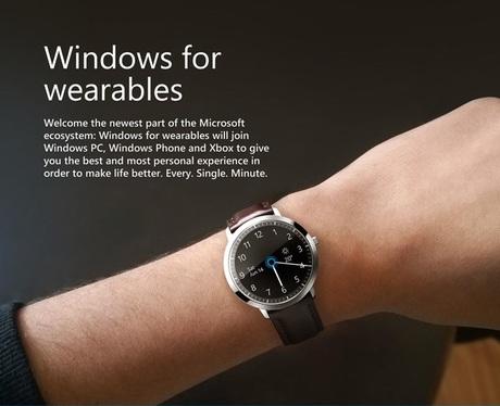 Smartwatch của Microsoft có Thiết kế quyến rũ