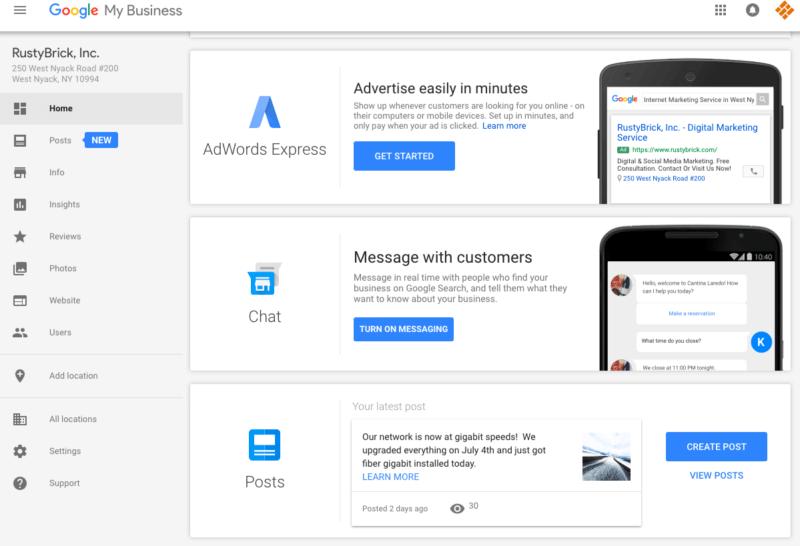Google tung ra chức năng nhắn tin  trong Google My Business