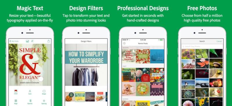 Adobe ra mắt Adobe Post để giúp bạn xây dựng Social Graphics tốt hơn
