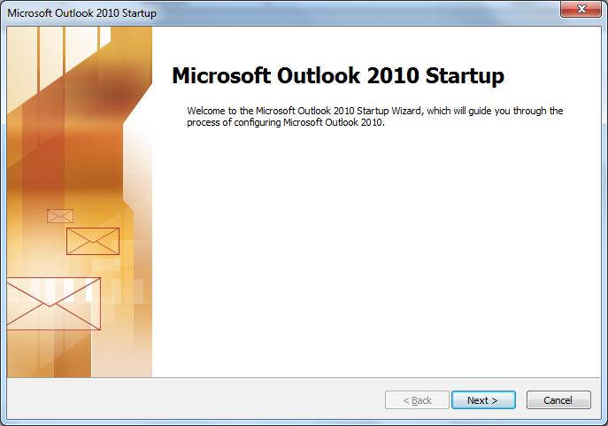 Cài đặt mail trên Microsoft Outlook 2010
