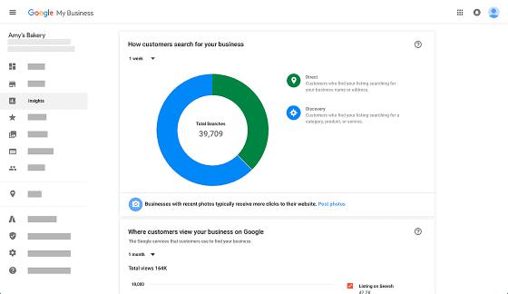 Google cho thử nghiệm bảng Google My Business trong kết quả tìm kiếm web