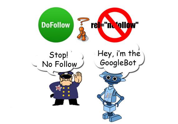 Google không phạt các liên kết Nofollow