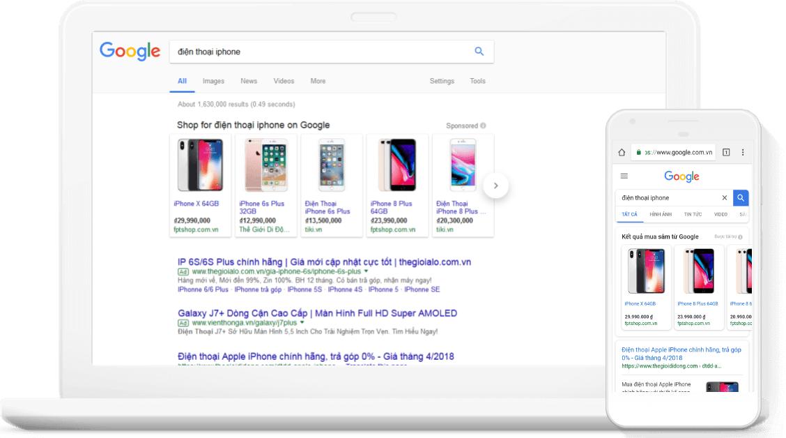 Google Shopping là gì? & Hướng dẫn sử dụng google shopping