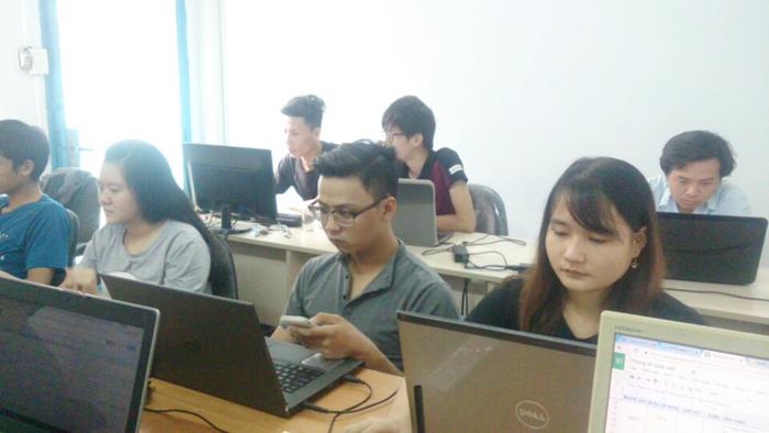 Đội ngũ thiết kế web