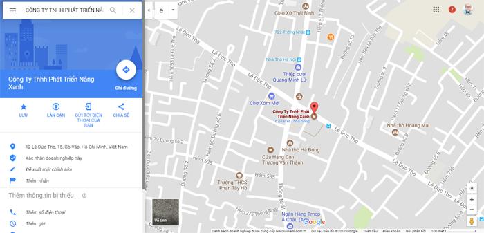 Hướng dẫn chèn bản đồ từ Google Maps vào website