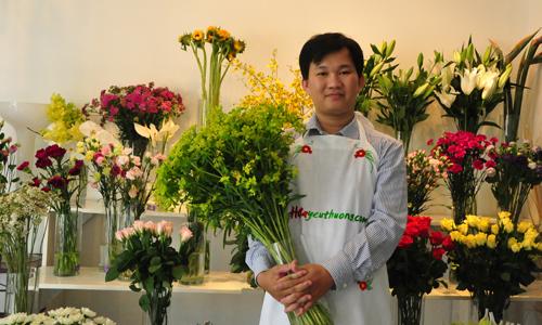 Kinh nghiệm mở shop hoa online & Cách trang trí shop hoa tươi