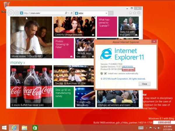 Microsoft sẽ cho ra mắt Windows 8.1 phiên bản... giá rẻ