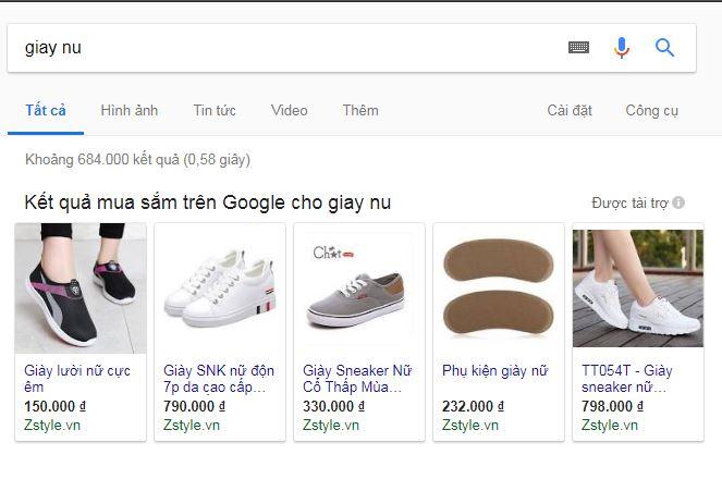 Quảng cáo Google Shopping có hiệu quả không? & Chạy quảng cáo google shopping