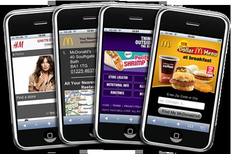 Xu hướng marketing trong tương lai! Tâm điểm của Marketing trong tương lai Web mobile