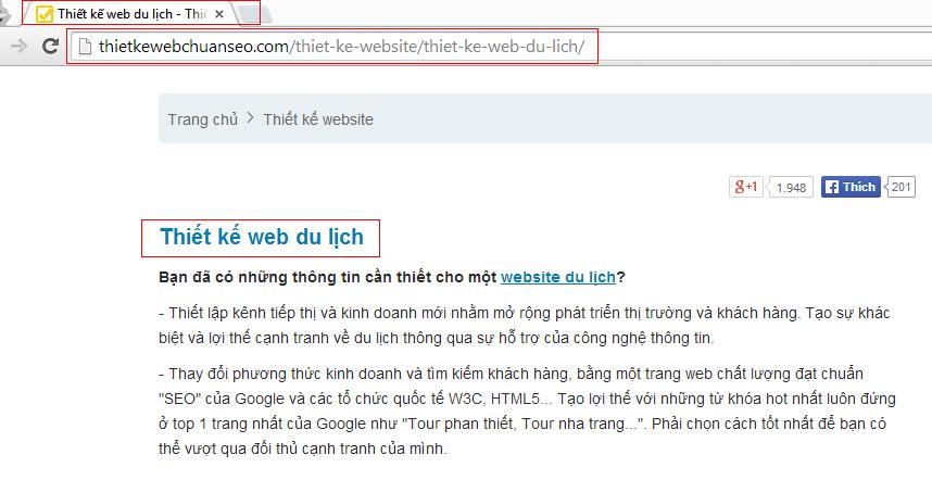 URL có quan trọng trong SEO & link url là gì